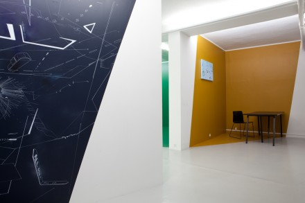 Measuring Space - KANT - Installation view - 2014