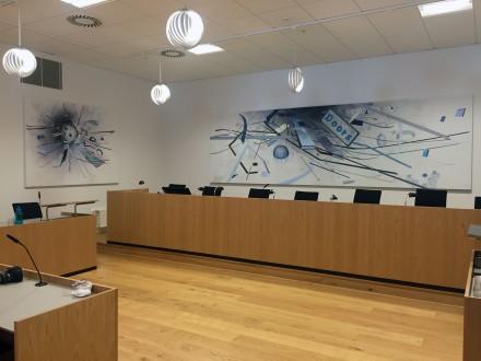 Vestre Landsret - installation view