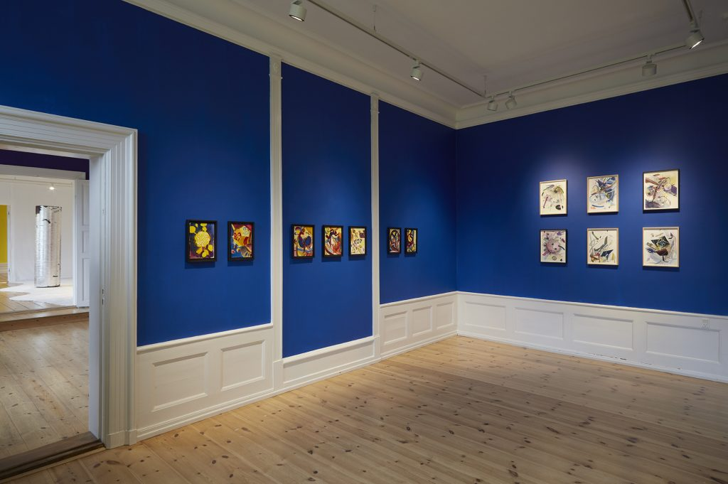 Installation view 'The Blue room'