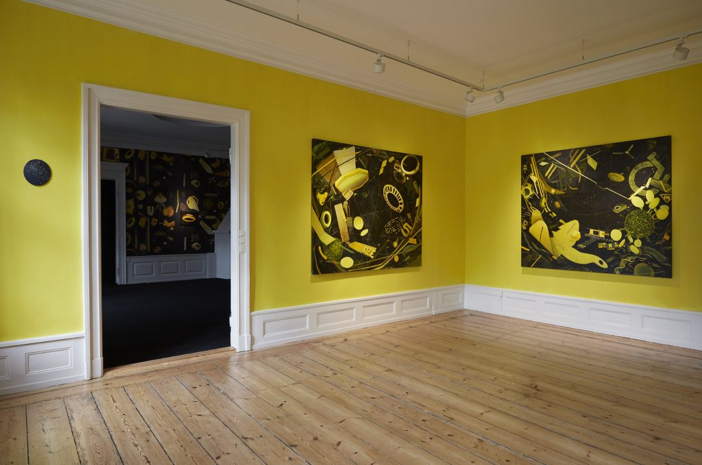 Installation view 'The Yellow room'